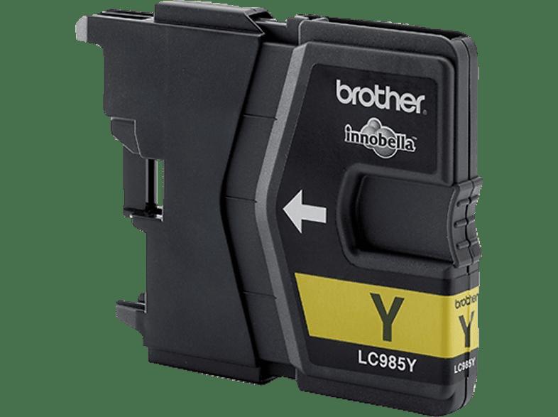 BROTHER Original Tintenpatrone Gelb (LC-985Y)