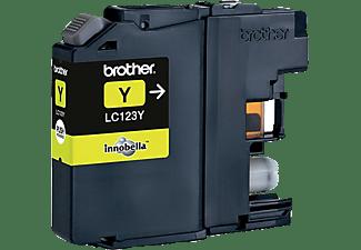 BROTHER LC 123 Y Tintenpatrone Gelb (LC-123Y)