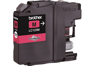 BROTHER LC 123 M Tintenpatrone Magenta (LC-123M)
