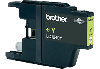 BROTHER LC1240Y - Cartouche d'encre (Jaune)