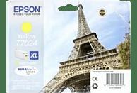 EPSON Original Tintenpatrone Eiffelturm Gelb (C13T70244010)