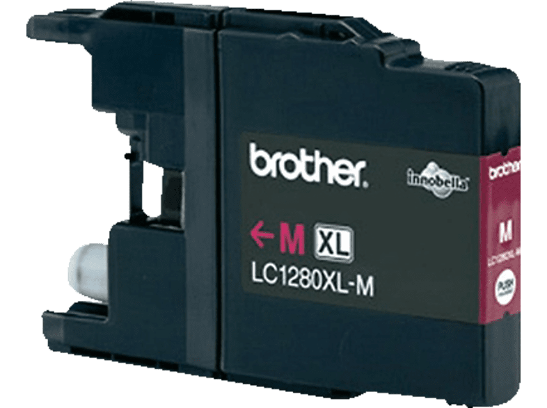 BROTHER Original Tintenpatrone Magenta (LC-1280XLM)