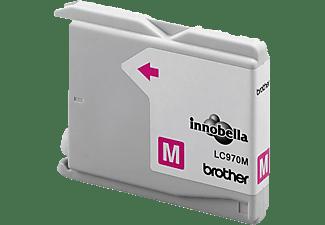 BROTHER Original Tintenpatrone Magenta (LC-970M)