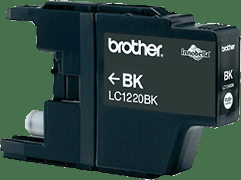 BROTHER Original Tintenpatrone Schwarz (LC-1220BK)