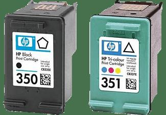 HP 350+351 Combo-Pack Schwarz+Colour