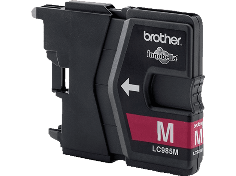 BROTHER Original Tintenpatrone Magenta (LC-985M)