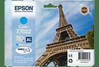 EPSON Original Tintenpatrone Eiffelturm Cyan (C13T70224010)