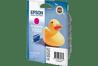 EPSON Original Tintenpatrone Badeente Magenta (C13T05534010)