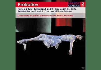 Dimitri Mitropoulos, New York Philharmonic Orchestra - Romeo & Juliet Suites  - (CD)