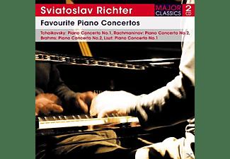 Sviatoslav Richter, VARIOUS - Favourite Piano Concertos  - (CD)