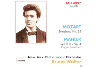 Walter Bruno, New York Philharmonic Orchestra - Bruno Walter in New York - (CD)