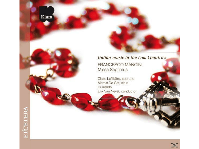 Currende - ITALIAN MUSIC IN THE LOW COUNTRIES [CD]