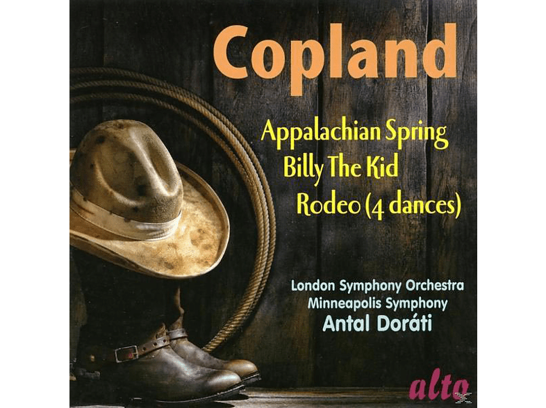 London Symphony Orchestra, Minneapolis Symphony Orchestra - Appalachian Spring / Billy The Kid / Four Dance Episodes From Romeo [CD]