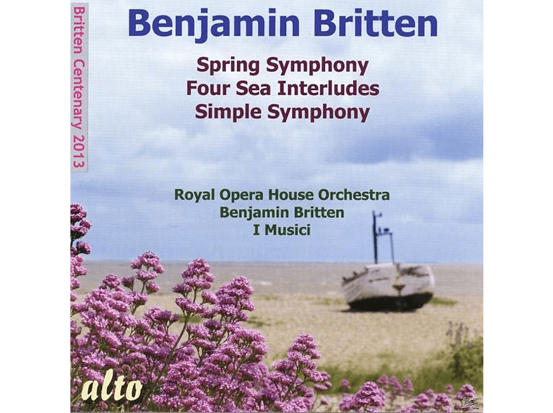 Felix Ayo, Norma Procter, I Musici, Royal Opera House Orchestra, Pears Peter, Jennifer Vyvyan - Spring Symphony/Four Sea Interludes [CD]