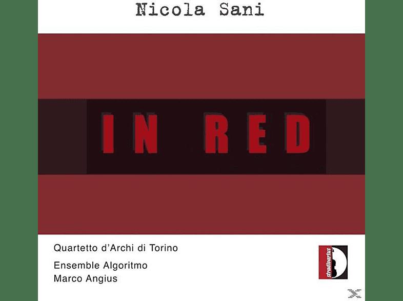 Angius/Quartetto d'Archi di Torino/Ensemble Algori - In Red [CD]