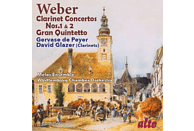 Glazer/de Peyer/Färber/Melos Ensemble/Württemb.KO - Klarinettenkonzerte 1 & 2/Quintett [CD]