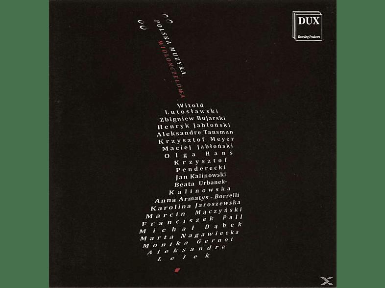 VARIOUS - Polnische Cellomusik für 1-8 Celli [CD]