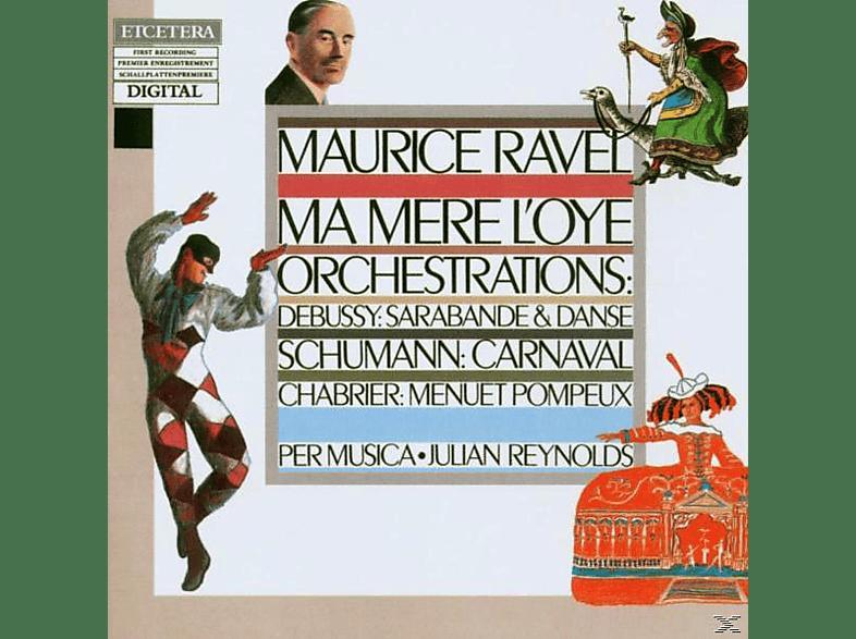 EUROPEAN CHAMBER ORCHESTRA/PER MUSI, Musica,Per/Reynolds,J./+ - Ma Mere L'oye [CD]