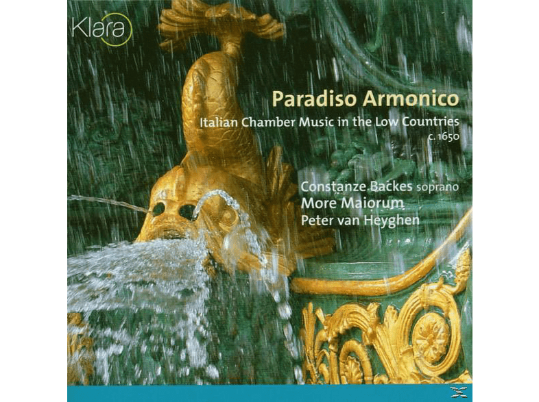 BACKES/MORE MAIORUM, Van Heygen/Backes/More Maiorum - Paradiso Armonico [CD]