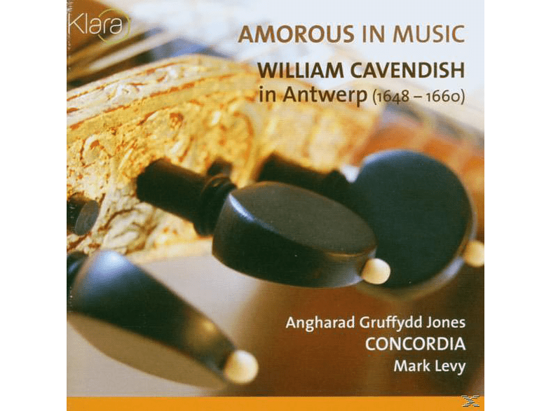 Gruffydd Jones, Jones/Concordia/Levy - Amorous In Music [CD]