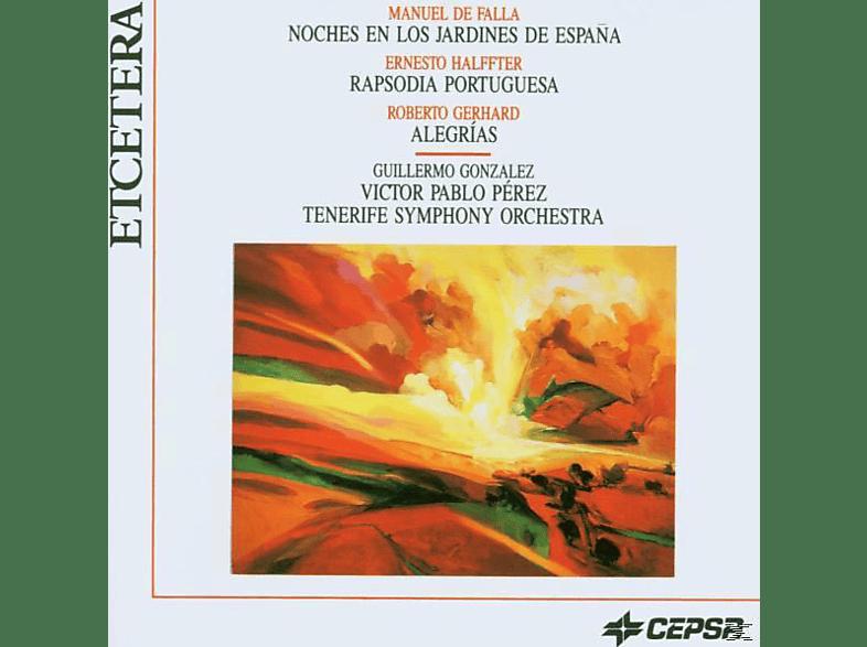 So Tenerife, Guillermo Gonzalez, Victor Pablo Perez - Orchestral Music [CD]