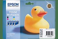 EPSON Original Tintenpatrone Ente Multipack mehrfarbig (C13T05564010)