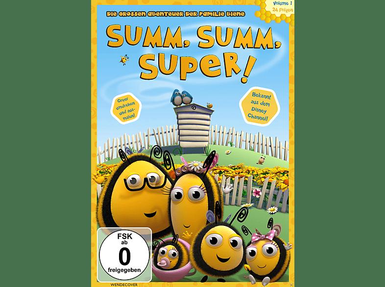 SUMM, SUMM, SUPER! - Die grossen Abenteuer der Familie Biene, Vol.1 [DVD]