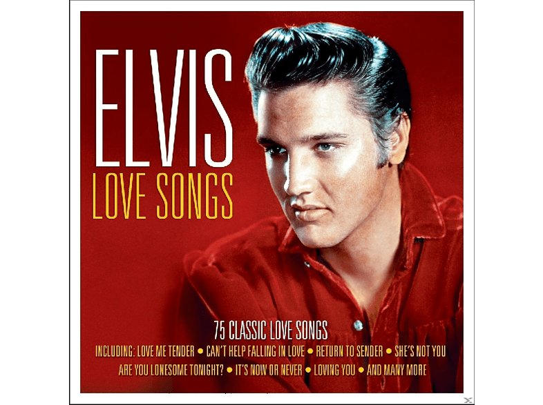 Elvis Presley - Love Songs [CD]