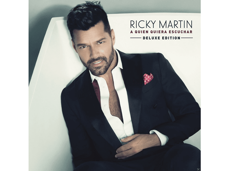 Ricky Martin - A Quien Quiera Escuchar [CD]