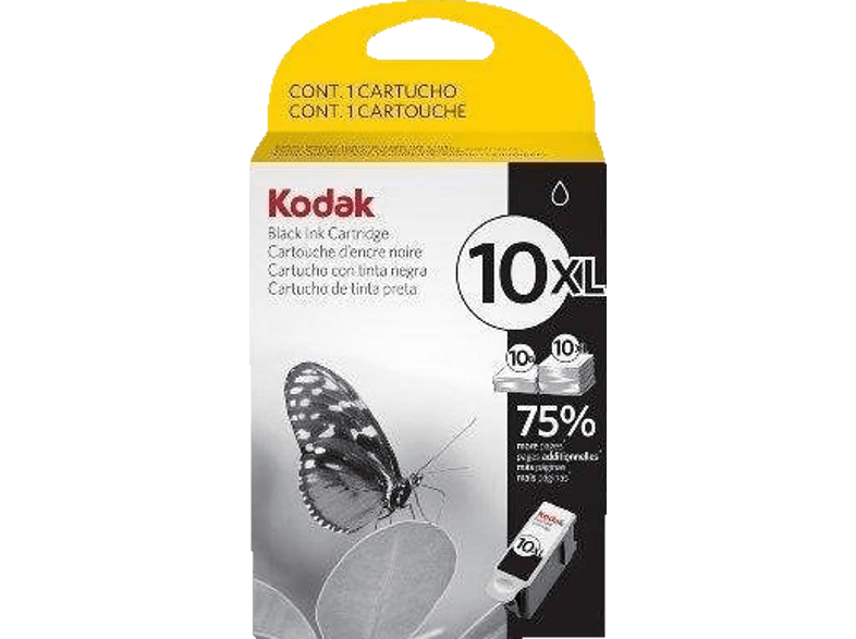KODAK 10XL Tintenpatrone Schwarz (3949922)