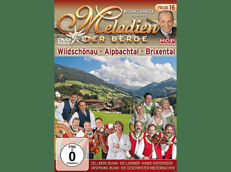 VARIOUS - Melodien der Berge - Wildschönau, Alpbachtal, Brixental [DVD]