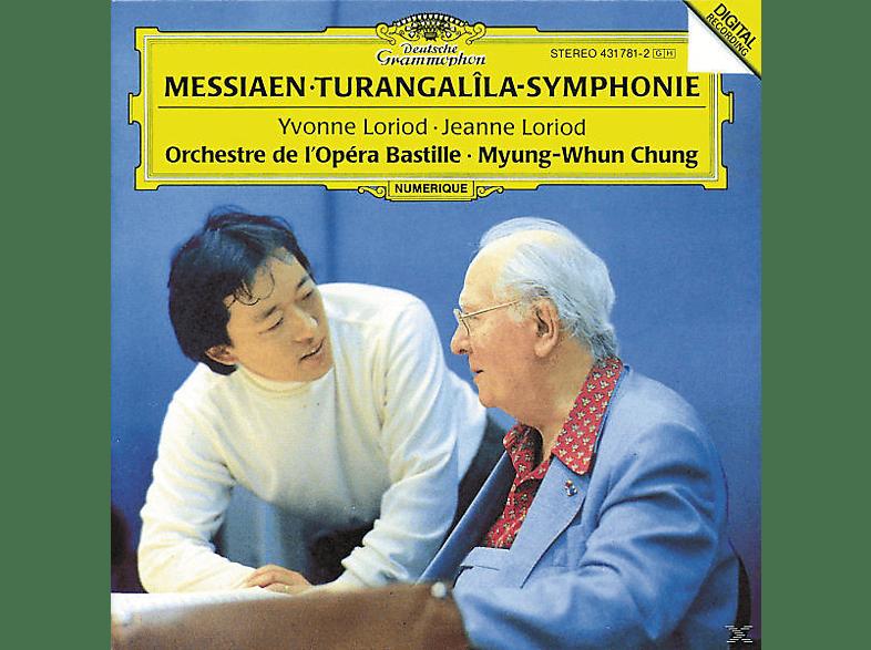 Myung-whun Chung, Loriod/Chung/OOB - Turangalila-Sinfonie [CD]