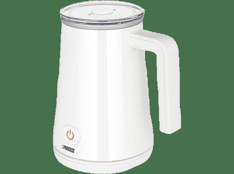 PRINCESS 243002 Milchaufschäumer, Weiß, 350 Watt