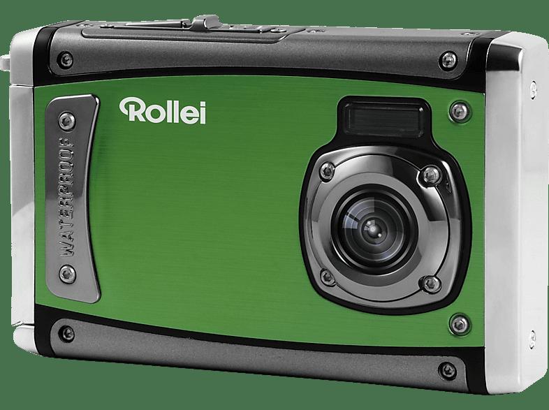 ROLLEI Sportsline 80 Digitalkamera Grün, 8 Megapixel, Farb-TFT-LCD