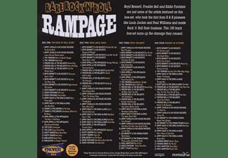VARIOUS - Rare Rock'n'roll Rampage  - (CD)