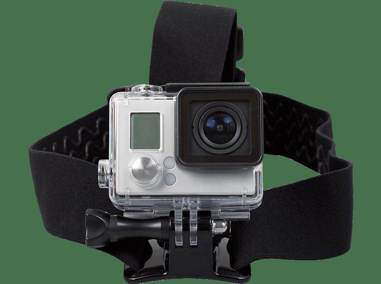 ROLLEI Kopfband Halterung für Actioncams, Halterung, Schwarz, passend für Rollei Actioncams und GoPro Kameras