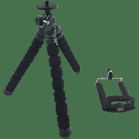 ROLLEI 22544 Mini Dreibein Stativ, Schwarz, Höhe offen bis 190 mm