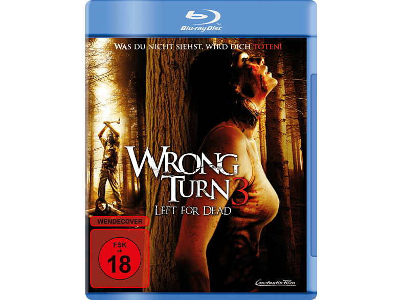Wrong Turn 3: Left for Dead [Blu-ray]