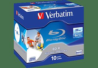 VERBATIM 43713 BD-R Single 6X 25GB Rohling