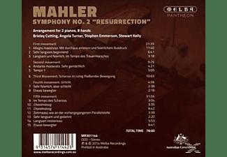 """Brieley Cutting, Angela Turner, Stephen Emmerson, Stewart Kelly - Sinfonie 2 """"Resurrection"""" Arrangement for 2 Pianos  - (CD)"""