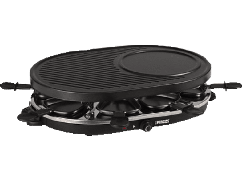 PRINCESS 162700 8 Oval Grill Party Raclette