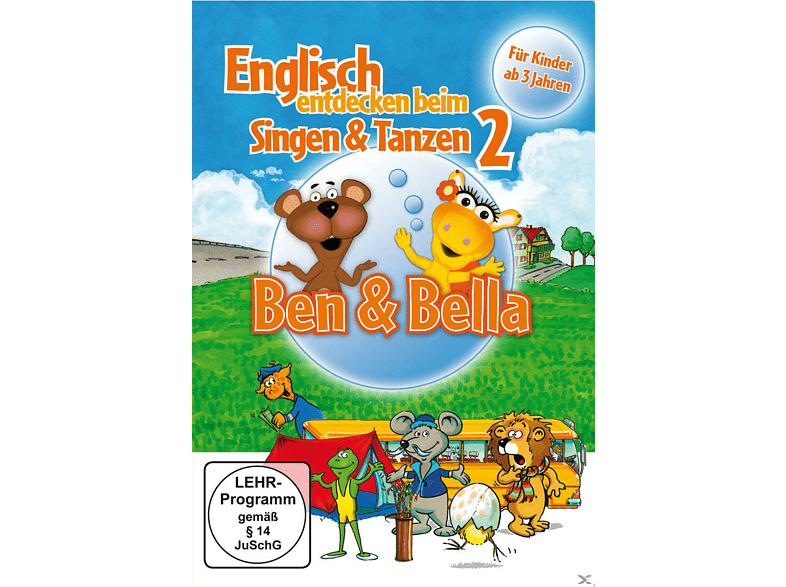 Englisch entdecken beim Singen & Tanzen 2 - Ben & Bella [DVD]