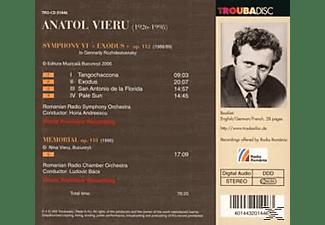 Andreescu/Bacs/Rumän.Radiosymphonieorchester - Sinfonie 6 Und Memorial  - (CD)