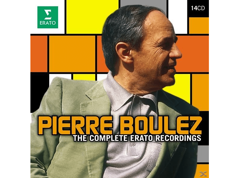 Pierre Boulez - Pierre Boulez - The Complete Erato Recordings [CD]