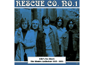 RESCUE CO.NO.1 - Life's Too Short-the Singles Anthology 1971-1975  - (CD)
