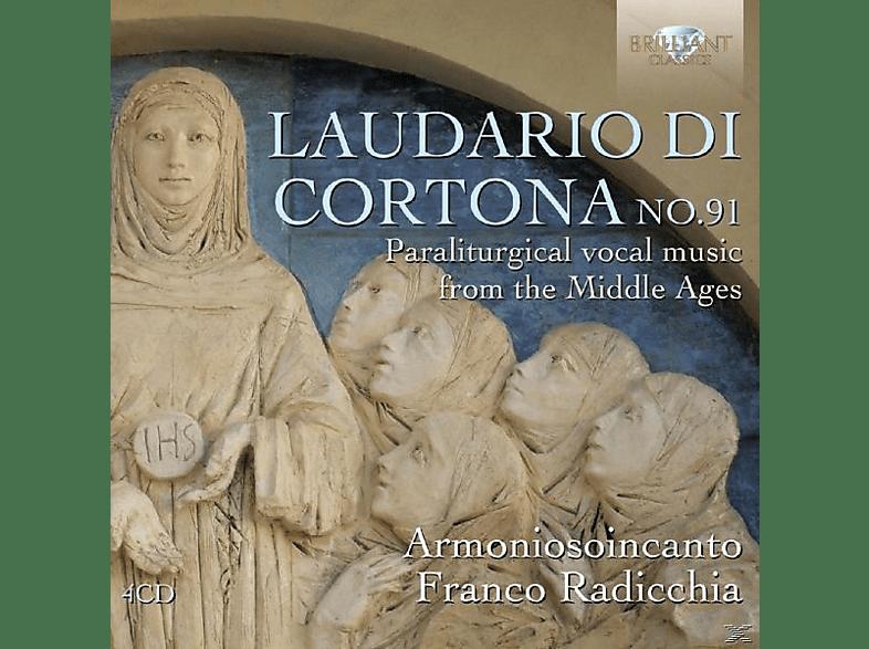 Armoniosoicanto, Franco Radicchia, Anonima Frottolisti - Laudario Di Cortona 91 [CD]