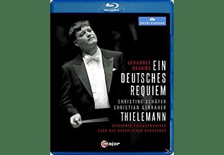 Schäfer/Gerhaher - Brahms: Ein Deutsches Requiem (Philharmonie München, 2007)  - (Blu-ray)