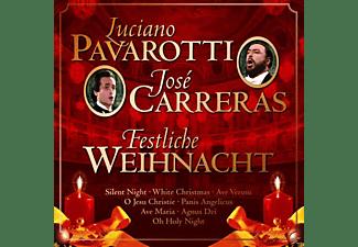 Luciano Pavarotti, José Carreras - Festliche Weihnacht  - (CD)