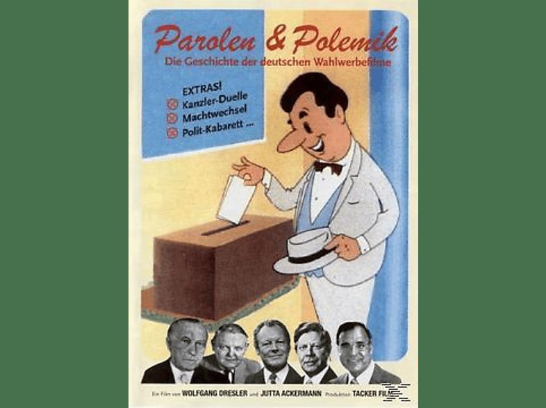 Parolen und Polemik - Deutsche Wahlwerbefilme [DVD]