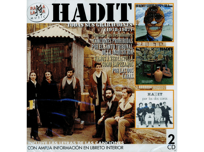 Hadit - Todas Sus Granaciones 1978-1987 [CD]